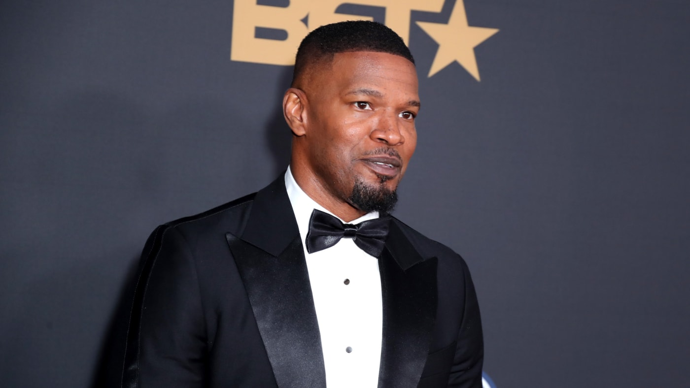 Jamie Foxx attends the 51st NAACP Image Awards.