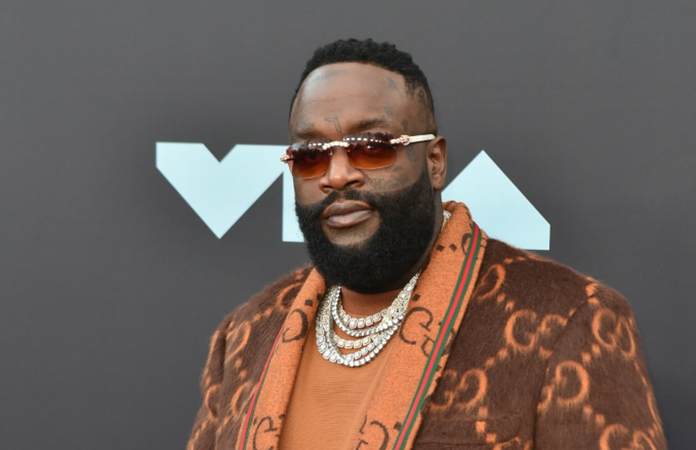 Rapper Rick Ross attends the 2019 MTV Video Music Awards