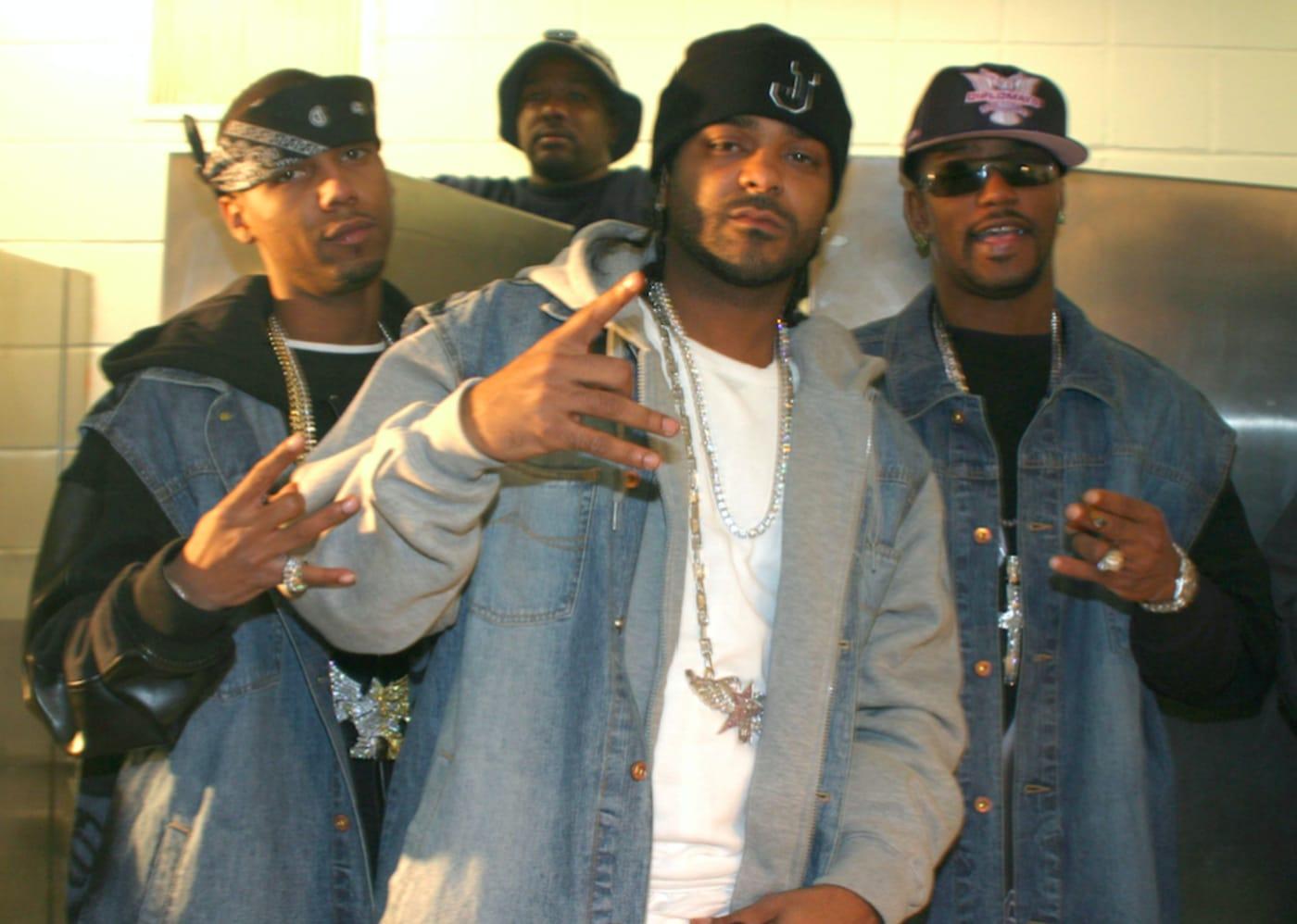 rapper mix tape dipset diplomats