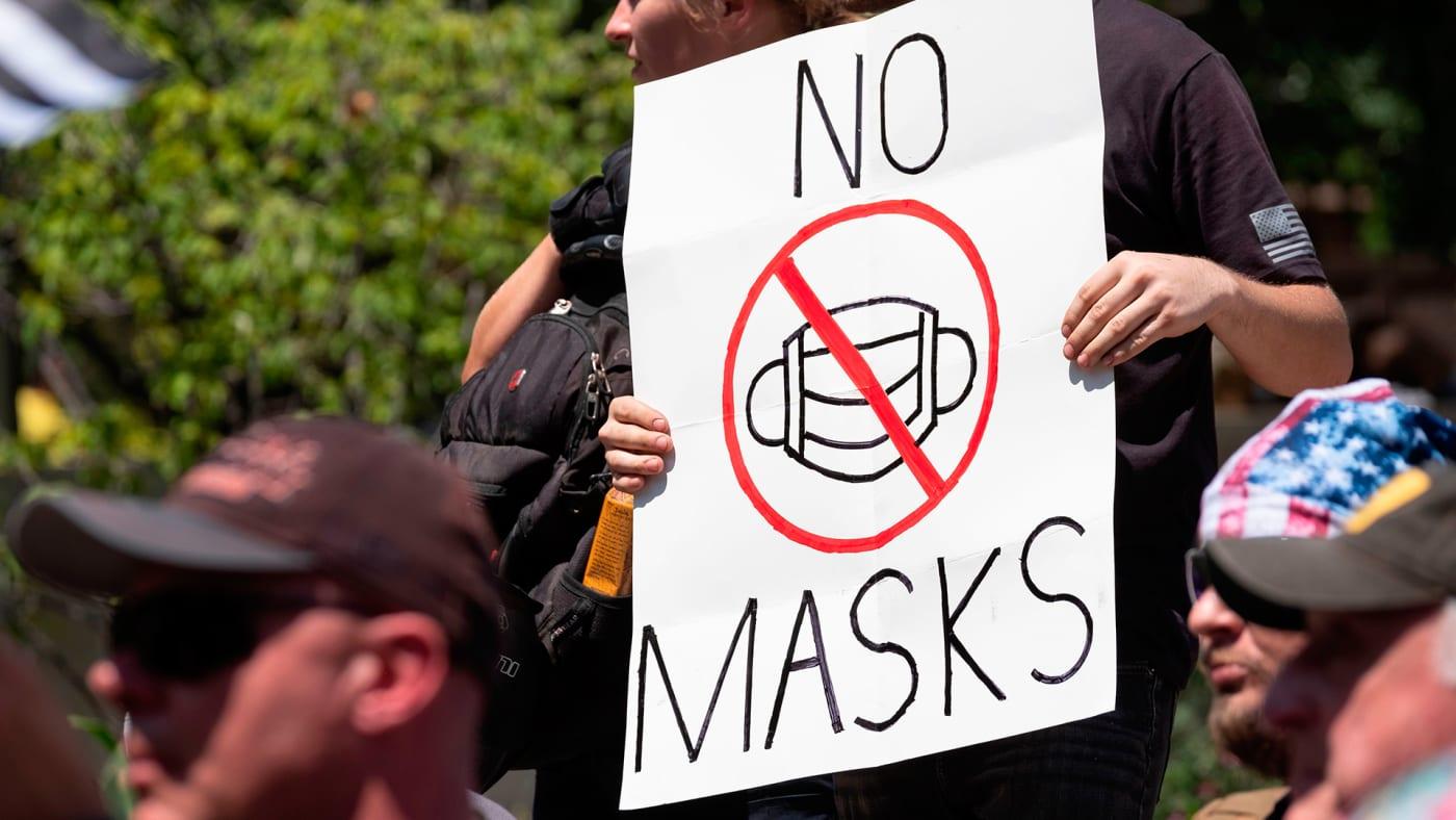 no maskers