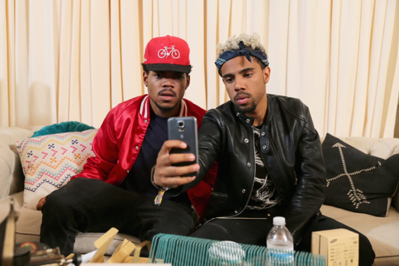 Chance the Rapper and Vic Mensa, Samsung Galaxy at Lollapalooza 2014