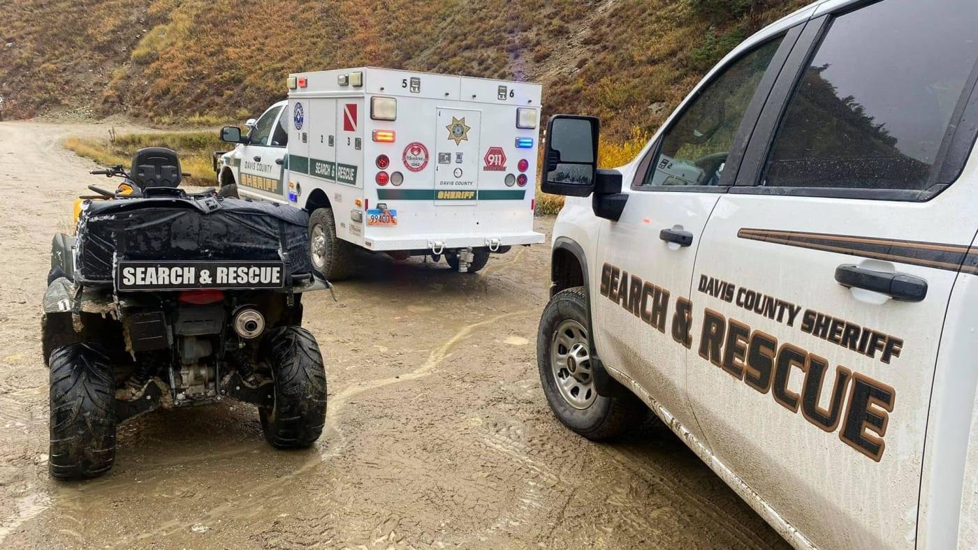 Davis County  Sheriff's Office trucks