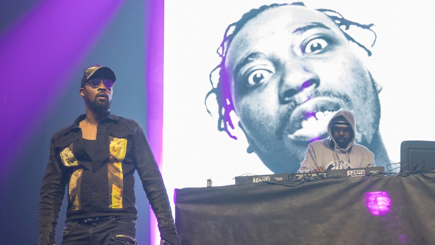 RZA of Wu-Tang Clan performs