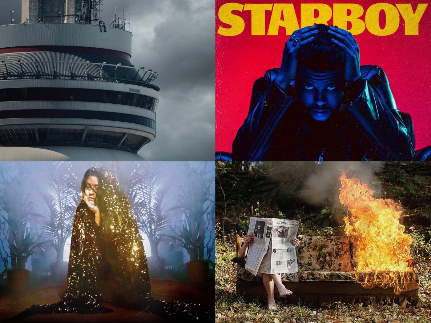 canadian albums 2016