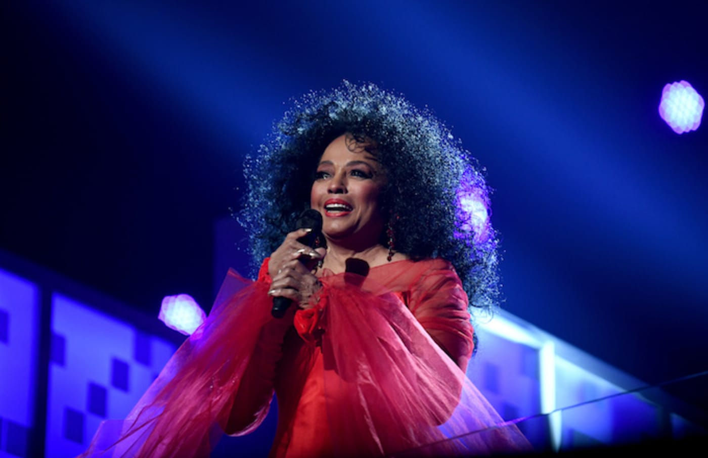 Diana Ross perorms onstage during the 61st Annual GRAMMY Awards.
