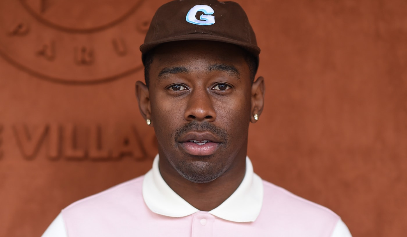 Tyler, the Creator on red carpet