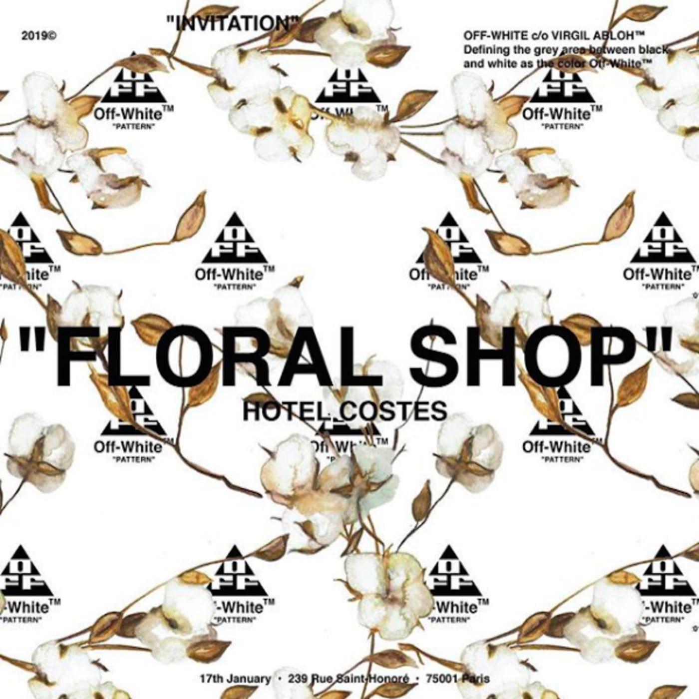 Off White Floral Shop