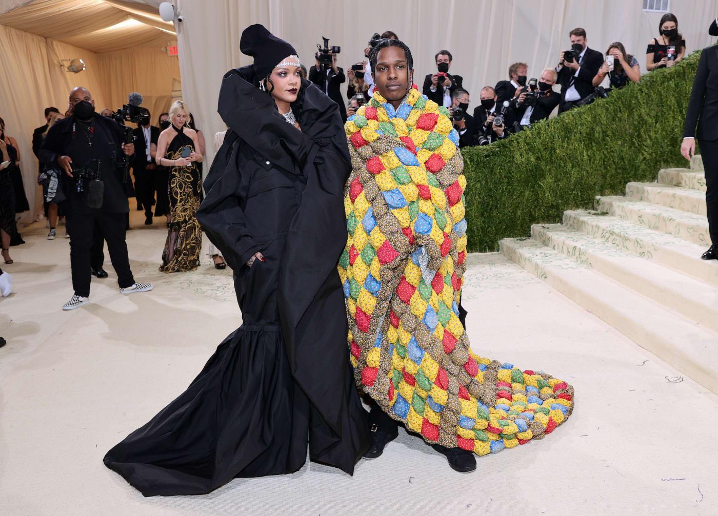 Rihanna and ASAP Rocky Stylish Moments Including Met Gala