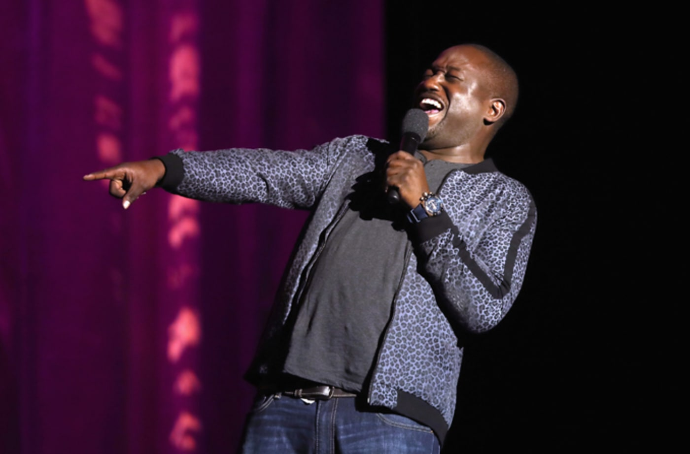 Hannibal Buress performs at the International Myeloma Foundation 11th Annual Comedy Celebration