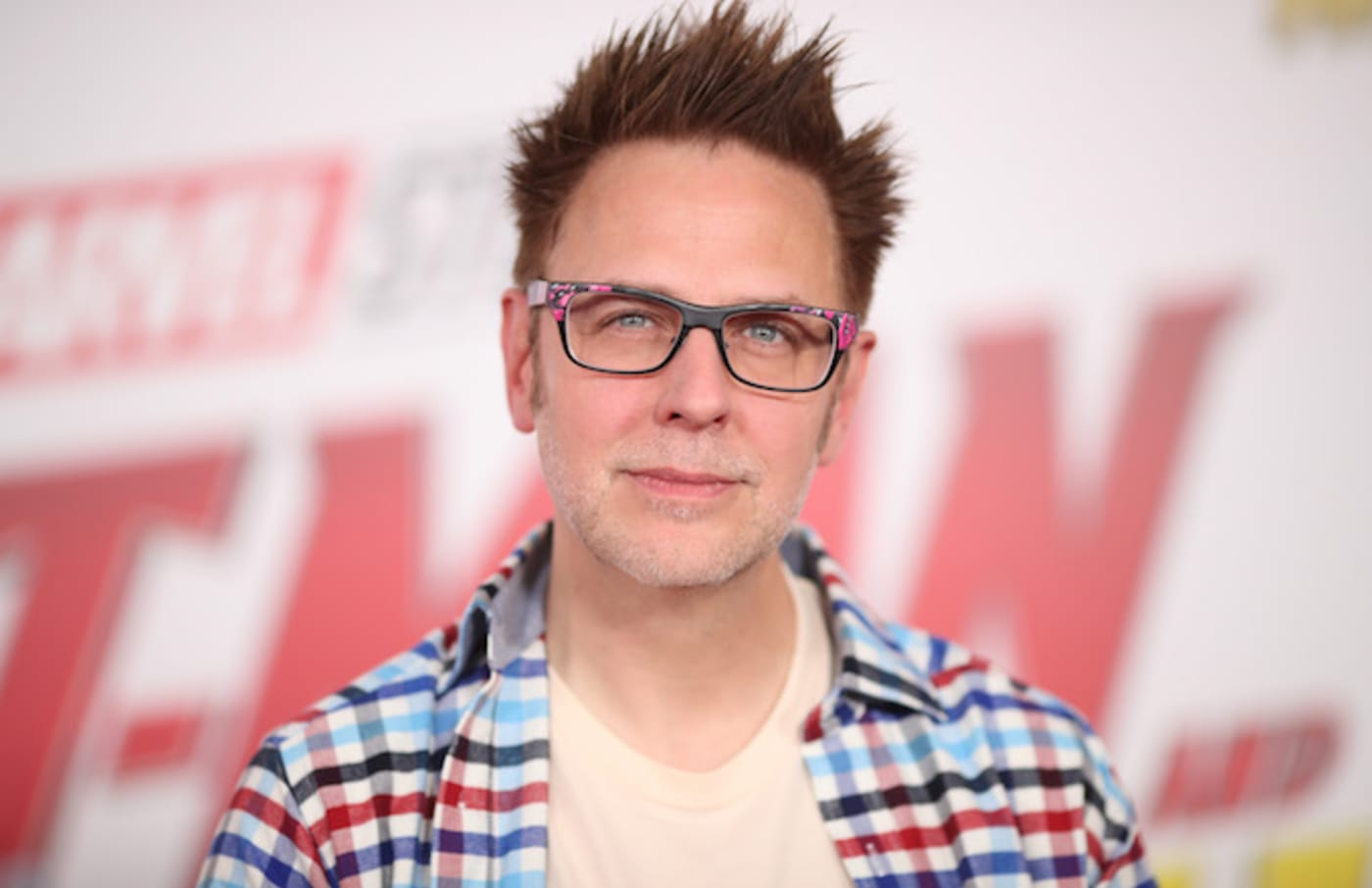 James Gunn attends the premiere of Disney And Marvel's 'Ant Man And The Wasp.'
