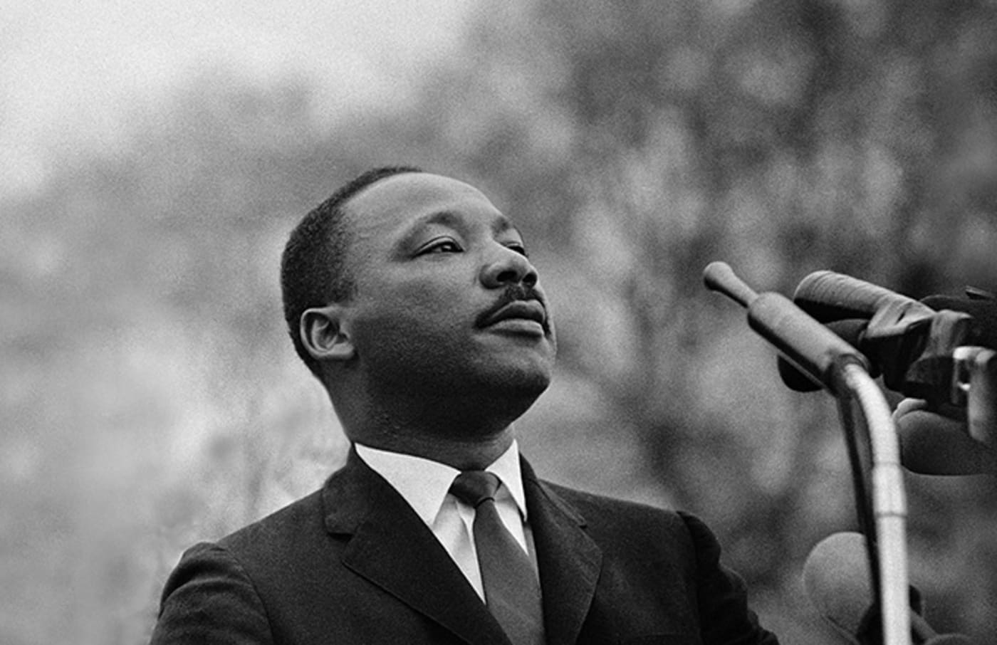 This is a photo of Martin Luther King.