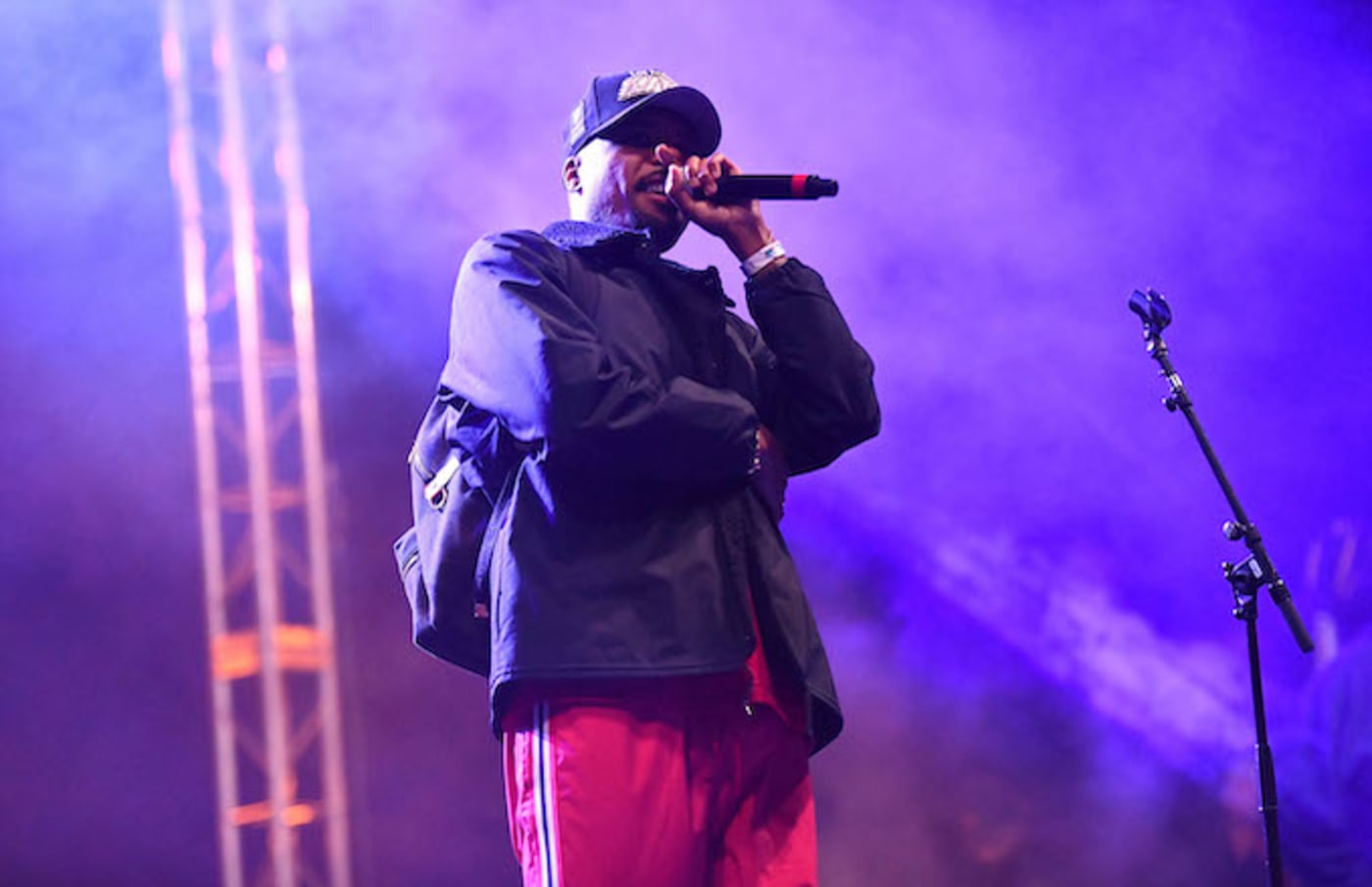 Rapper Dom Kennedy.