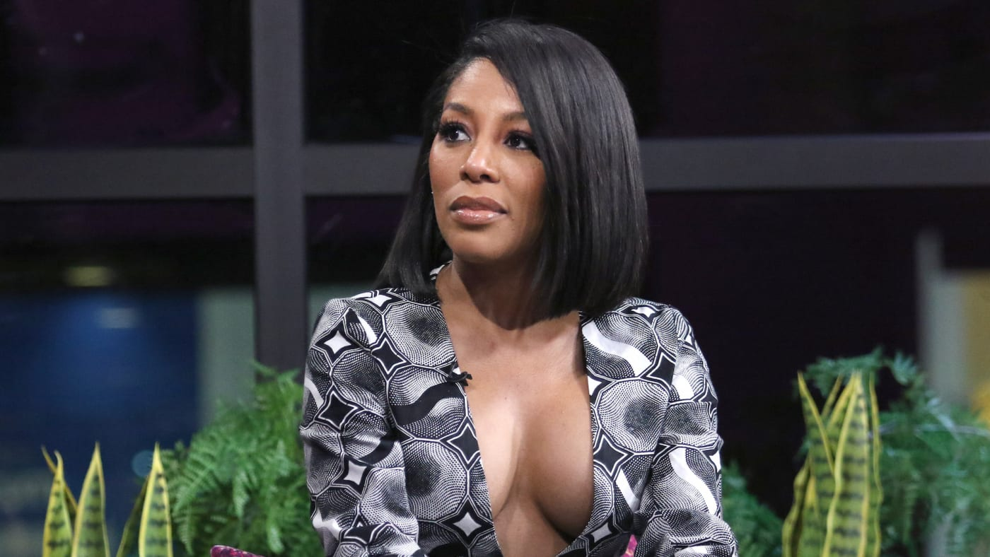 """Singer K. Michelle attends """"The X Change Rate"""" at Build Studio"""