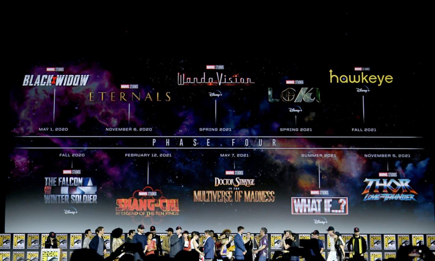 Marvel Studios Phase 4 at San Diego Comic Con 2019