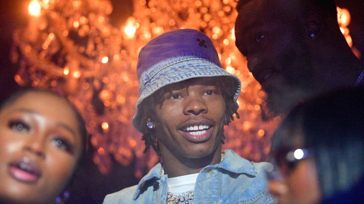 Rapper Lil Baby attends MIATL weekend celebration
