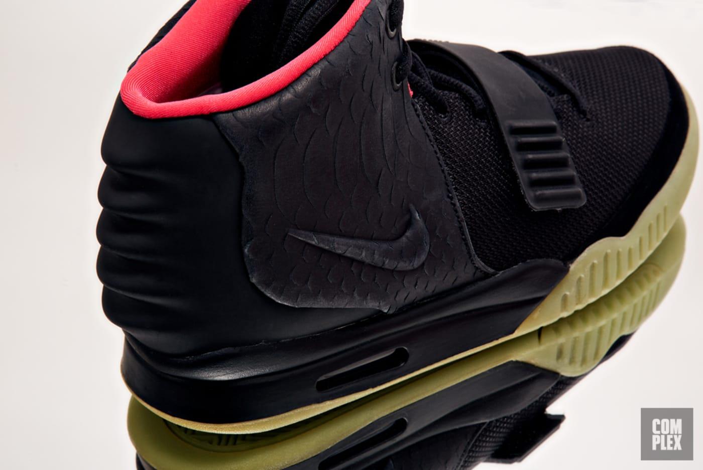 "Nike Air Yeezy 2 ""Black/Solar"""