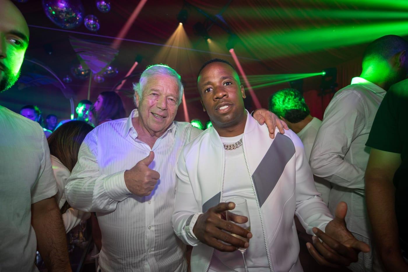 Robert Kraft and Yo Gotti