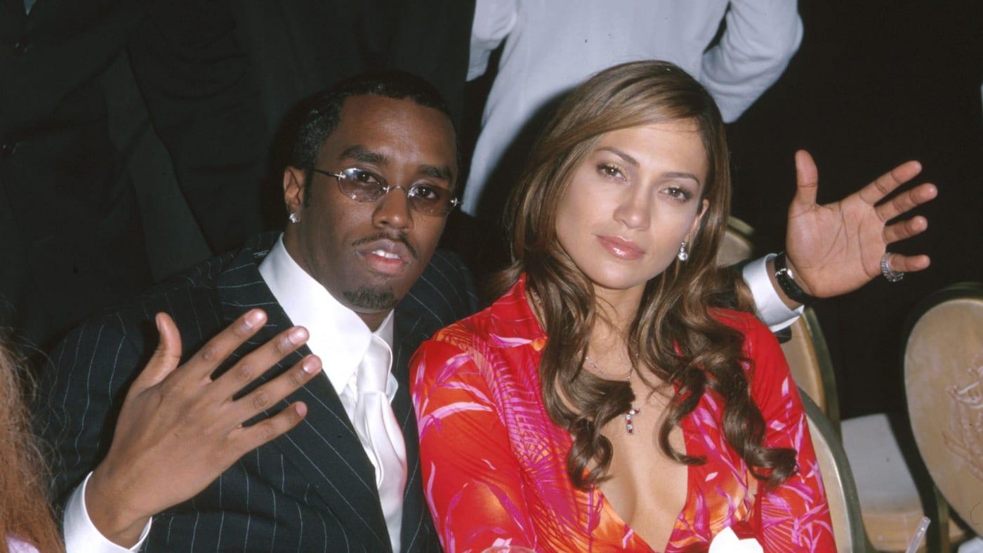 "Sean ""Puffy"" Combs & Jennifer Lopez"