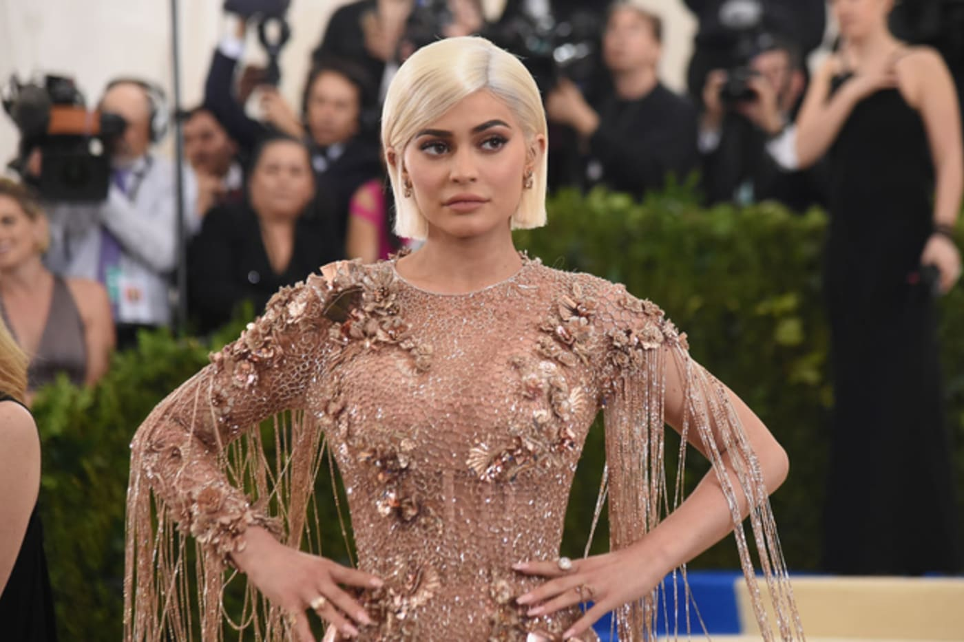 Kylie Jenner at 'Rei Kawakubo/Comme des Garcons: Art Of The In Between' Gala at the Met.