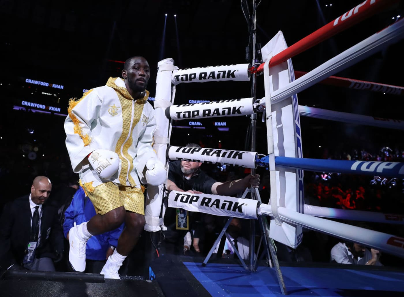 Terence Crawford Ring Entrance MSG 2019