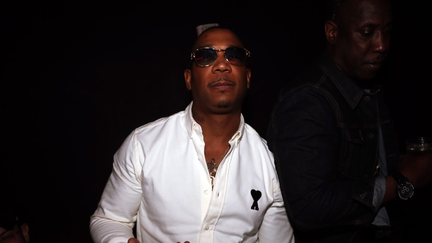 Ja Rule attends the Super Bowl After Party.
