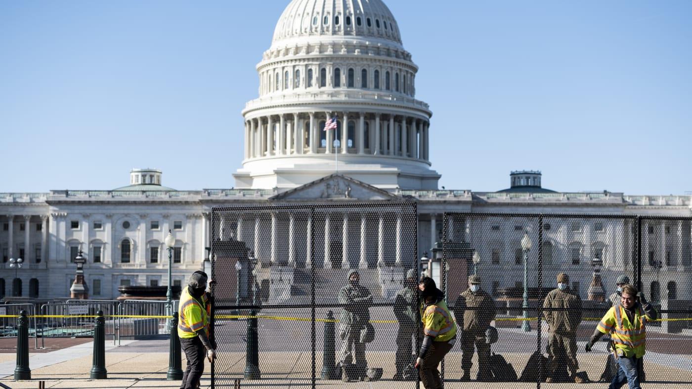 capitol riots virginia cops arrested