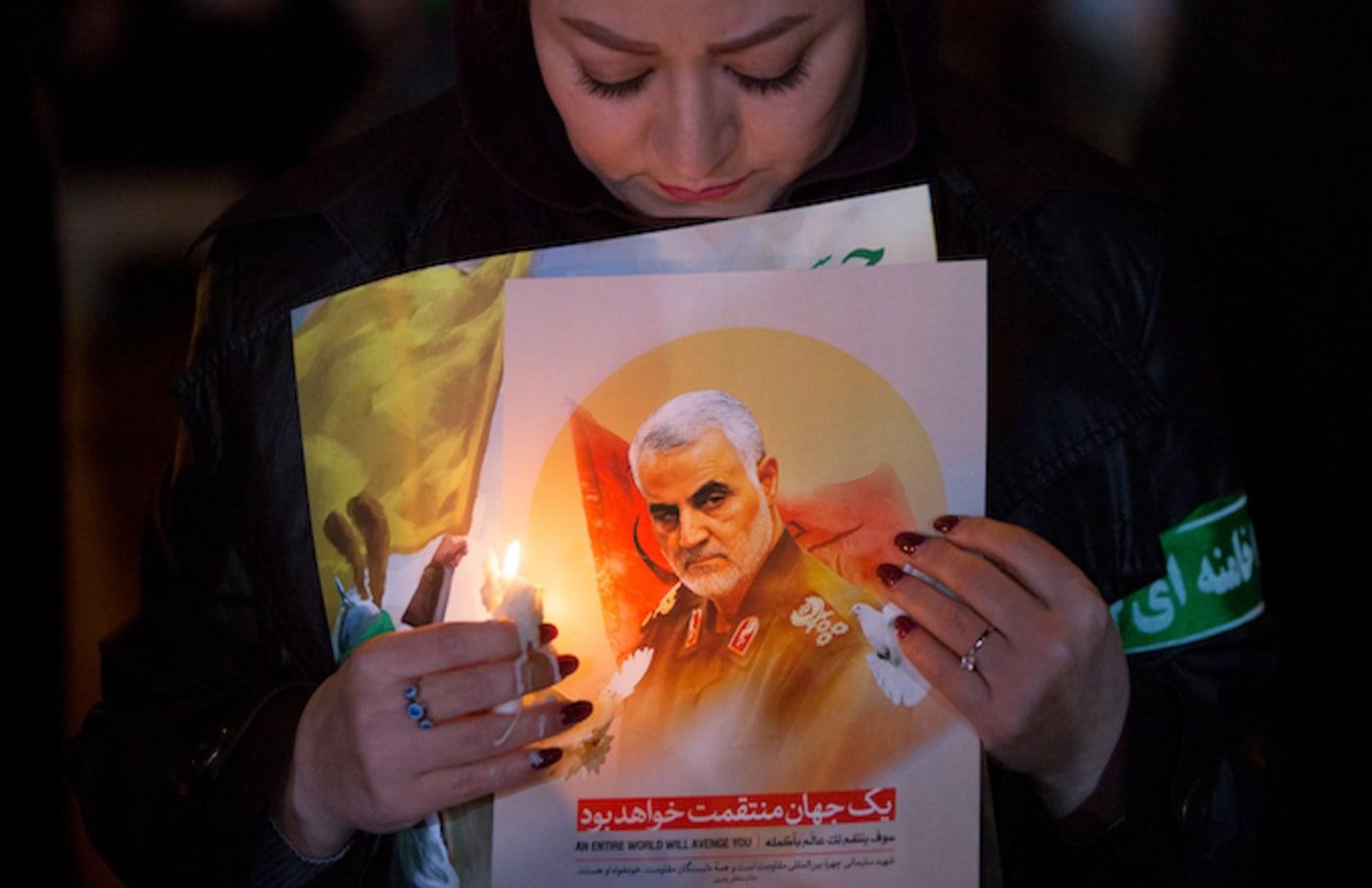 iran strike