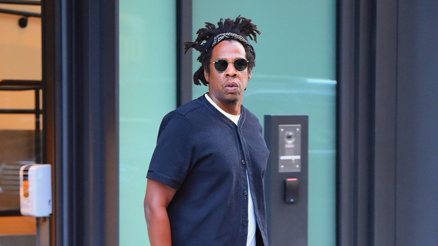 Jay-Z is seen on September 18, 2020 in New York City