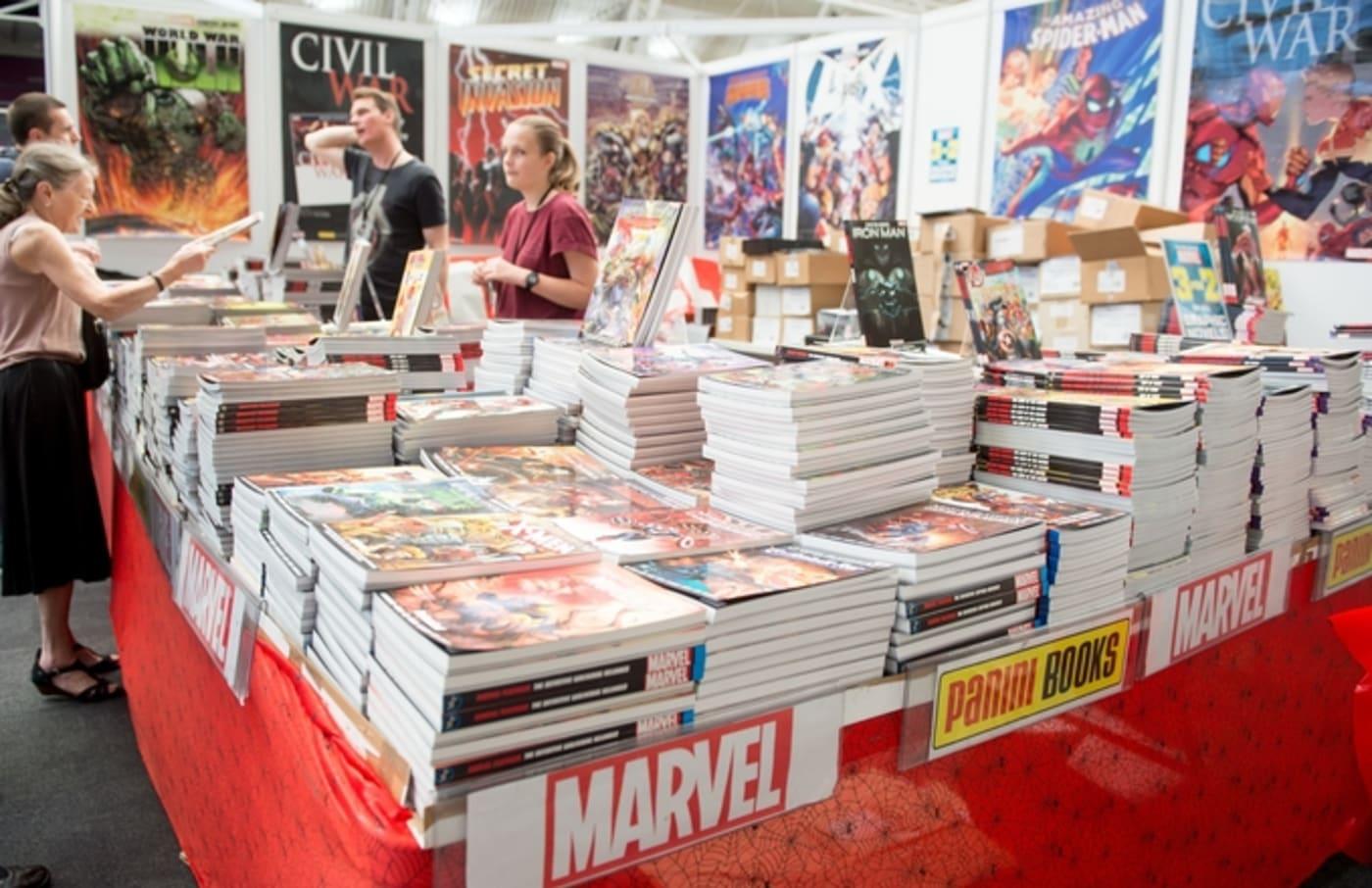 marvel comic books comic con