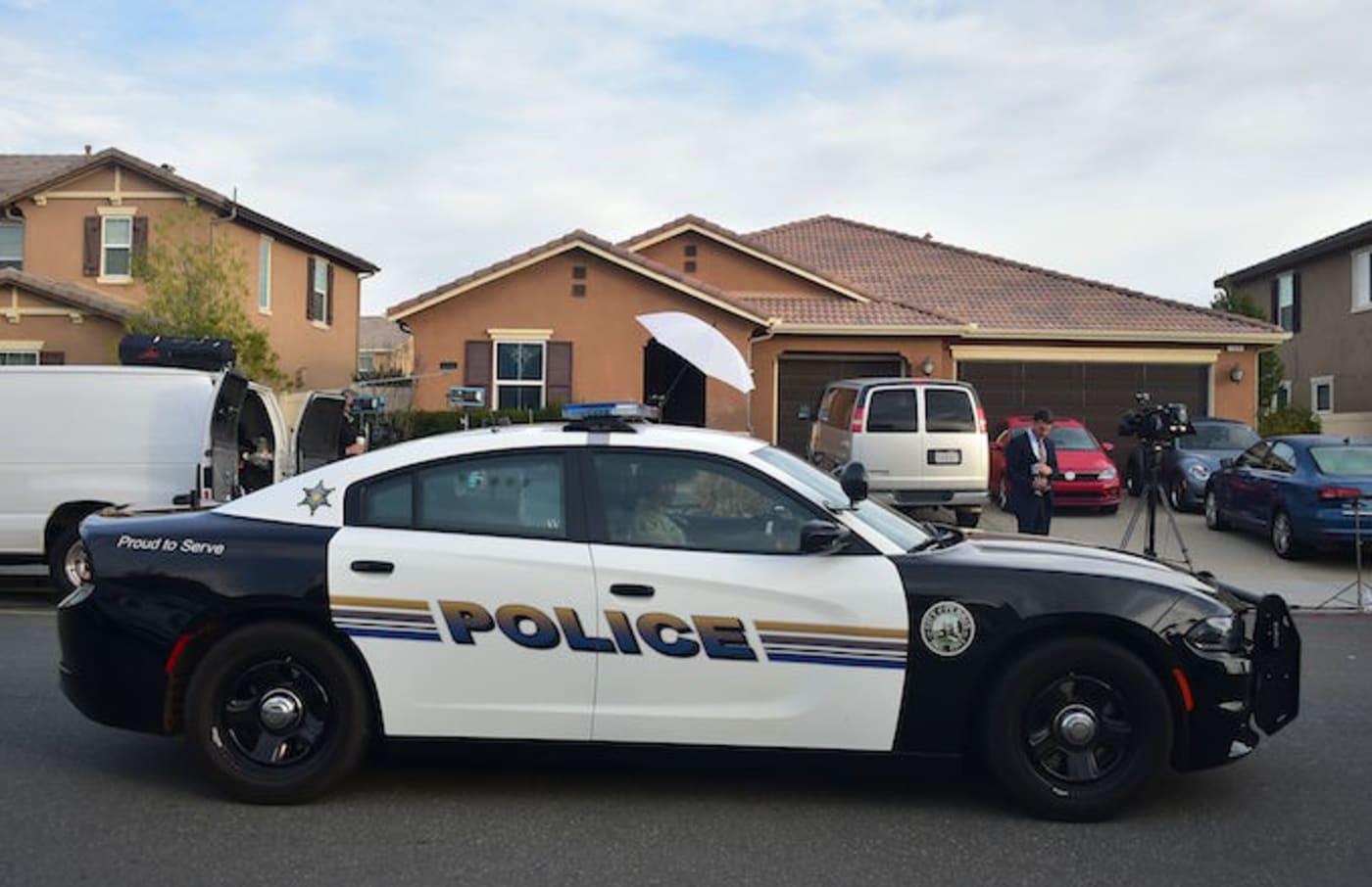 A police car.