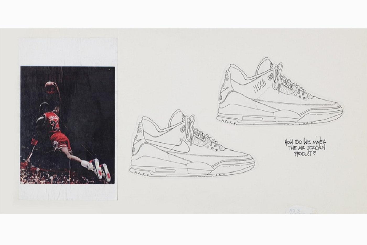Air Jordan 3 Tinker Sketch