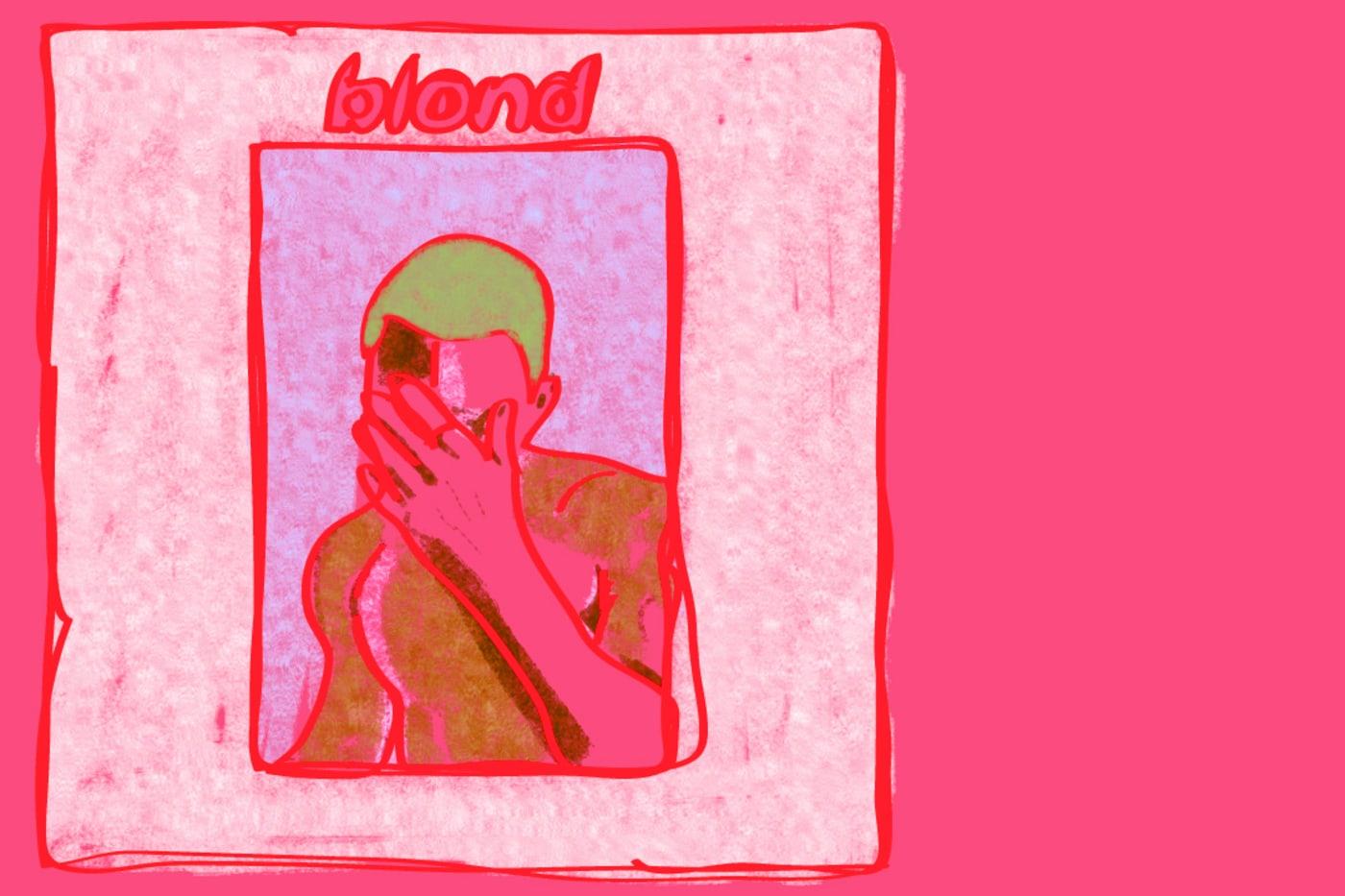 blond blonde frank