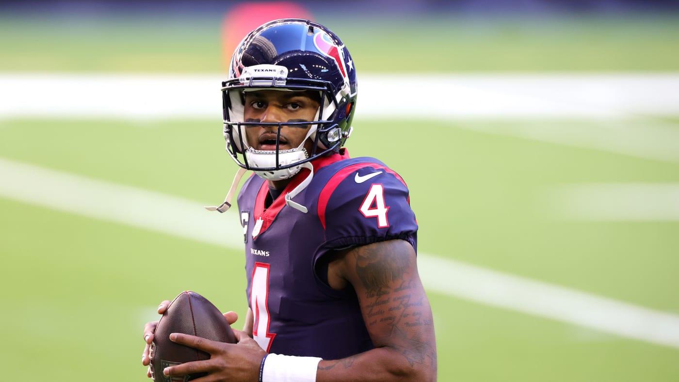 Deshaun Watson #4 of the Houston Texans in action