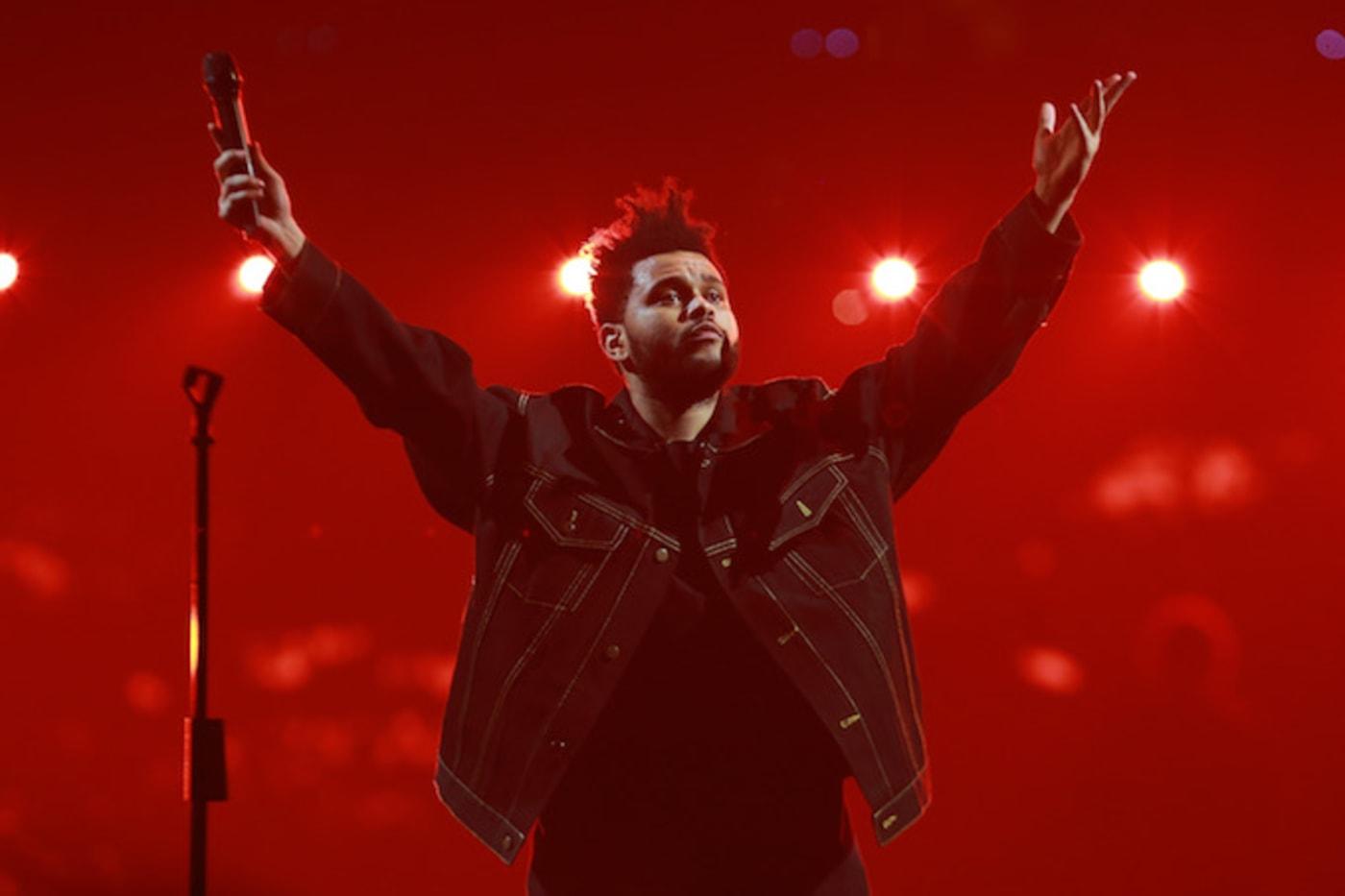 The Weeknd in California
