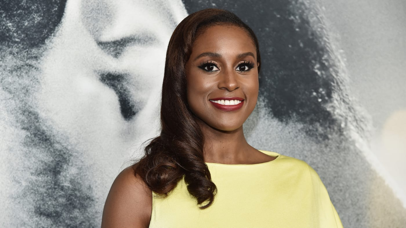 "Issa Rae attends the world premiere of ""The Photograph"""