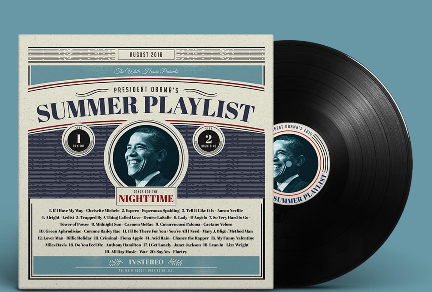 President Obama's Summer Playlist 2016