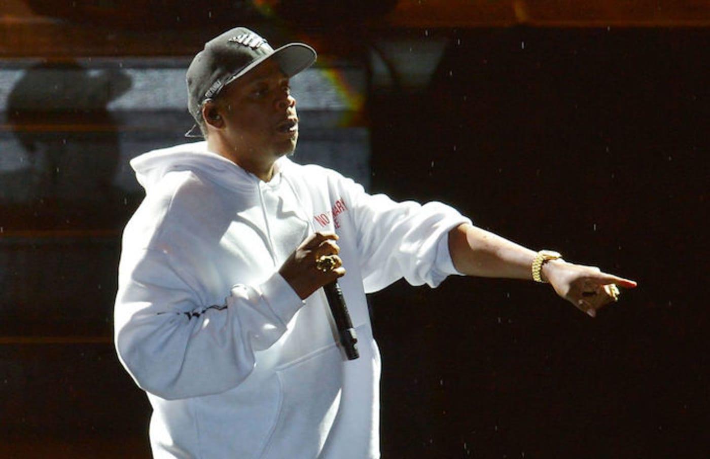 Jay Z in England