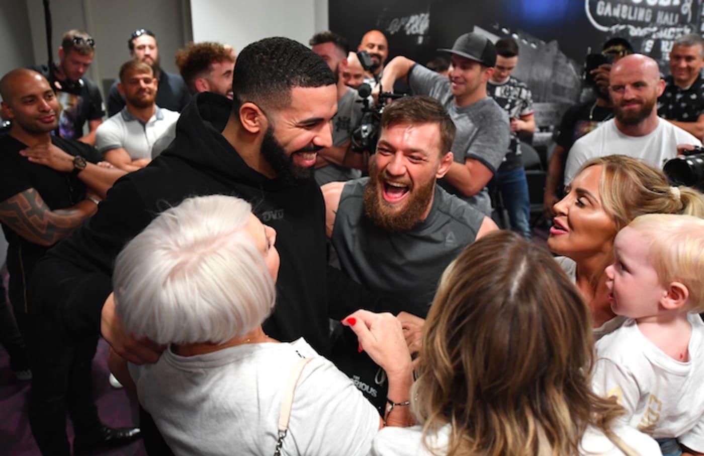 Drake and Conor McGregor