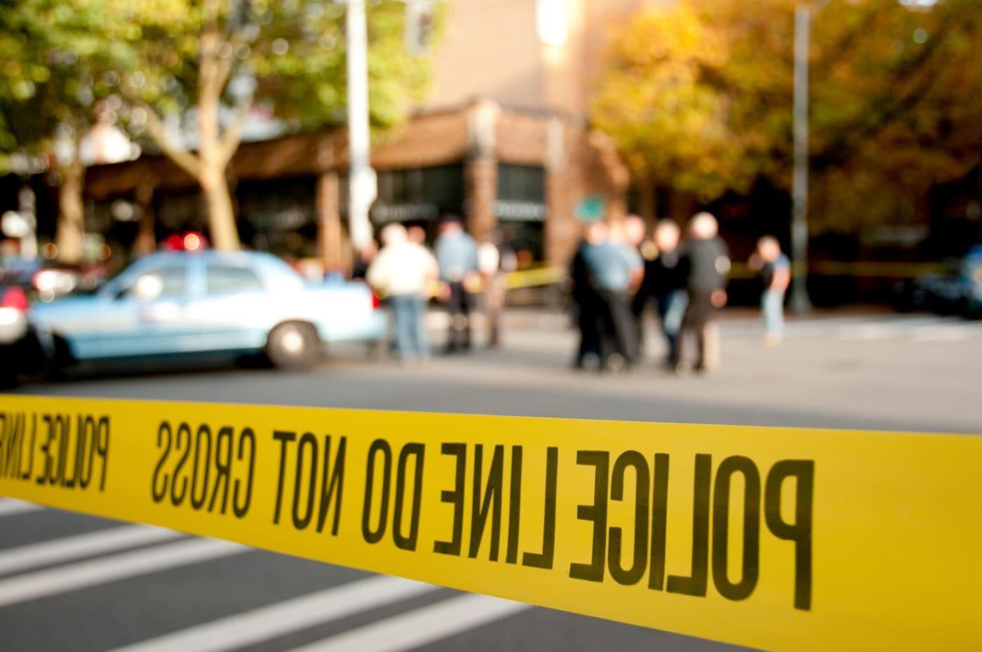 police-scene