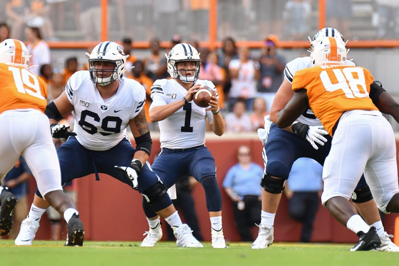 Zach Wilson BYU Tennessee 2019