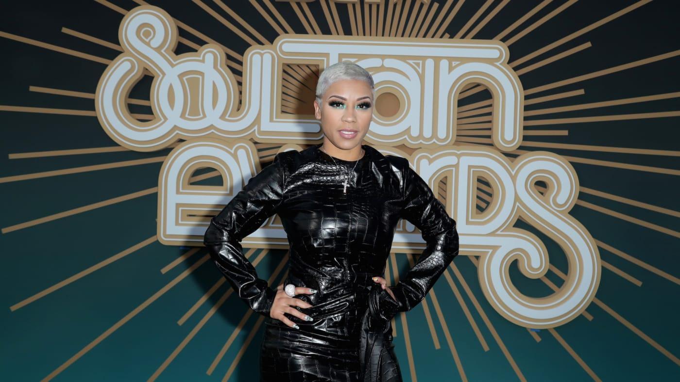 Keyshia Cole attends the 2019 Soul Train Awards