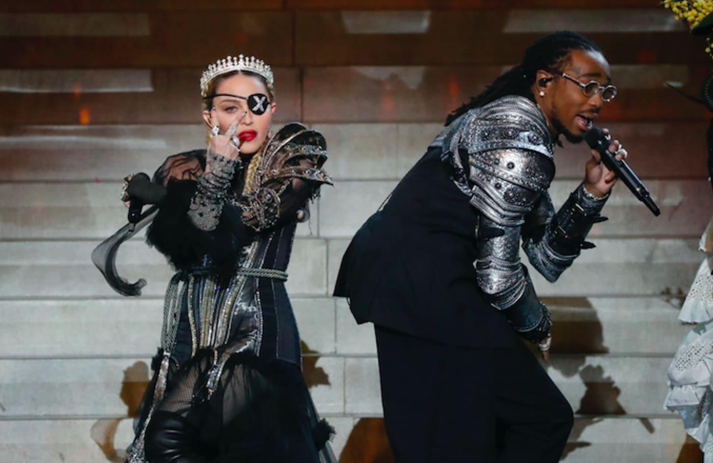 Madonna and Quavo