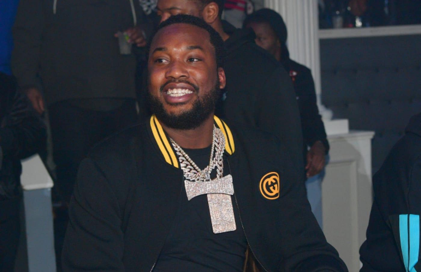 Rapper Meek Mill attends Meek Mill 'Championships' Album release Party