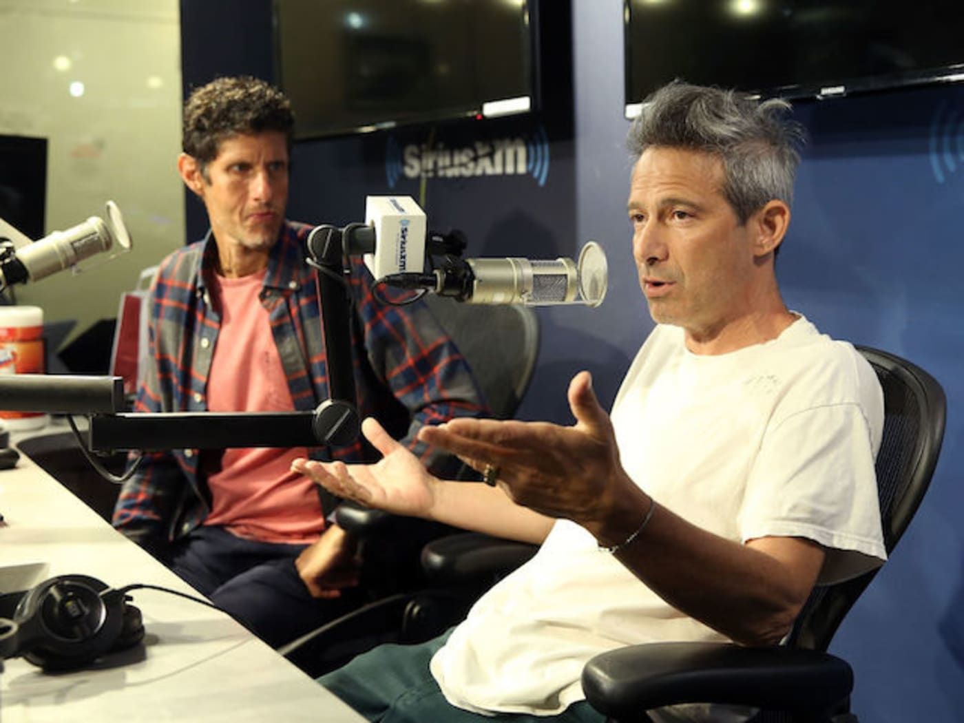 This is a picture of The Beastie Boys.