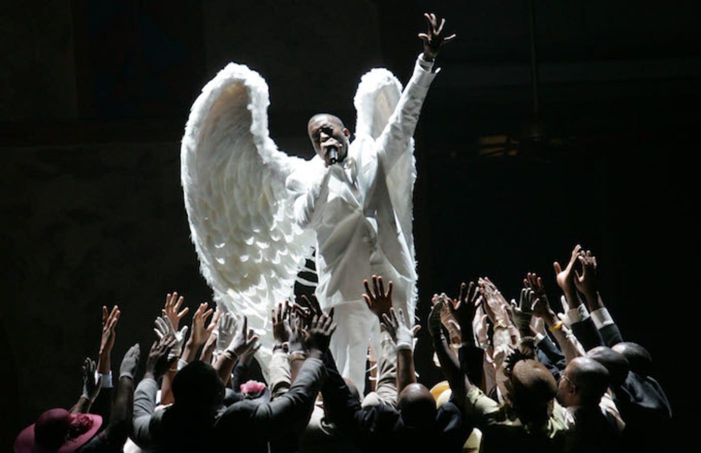 kanye angel