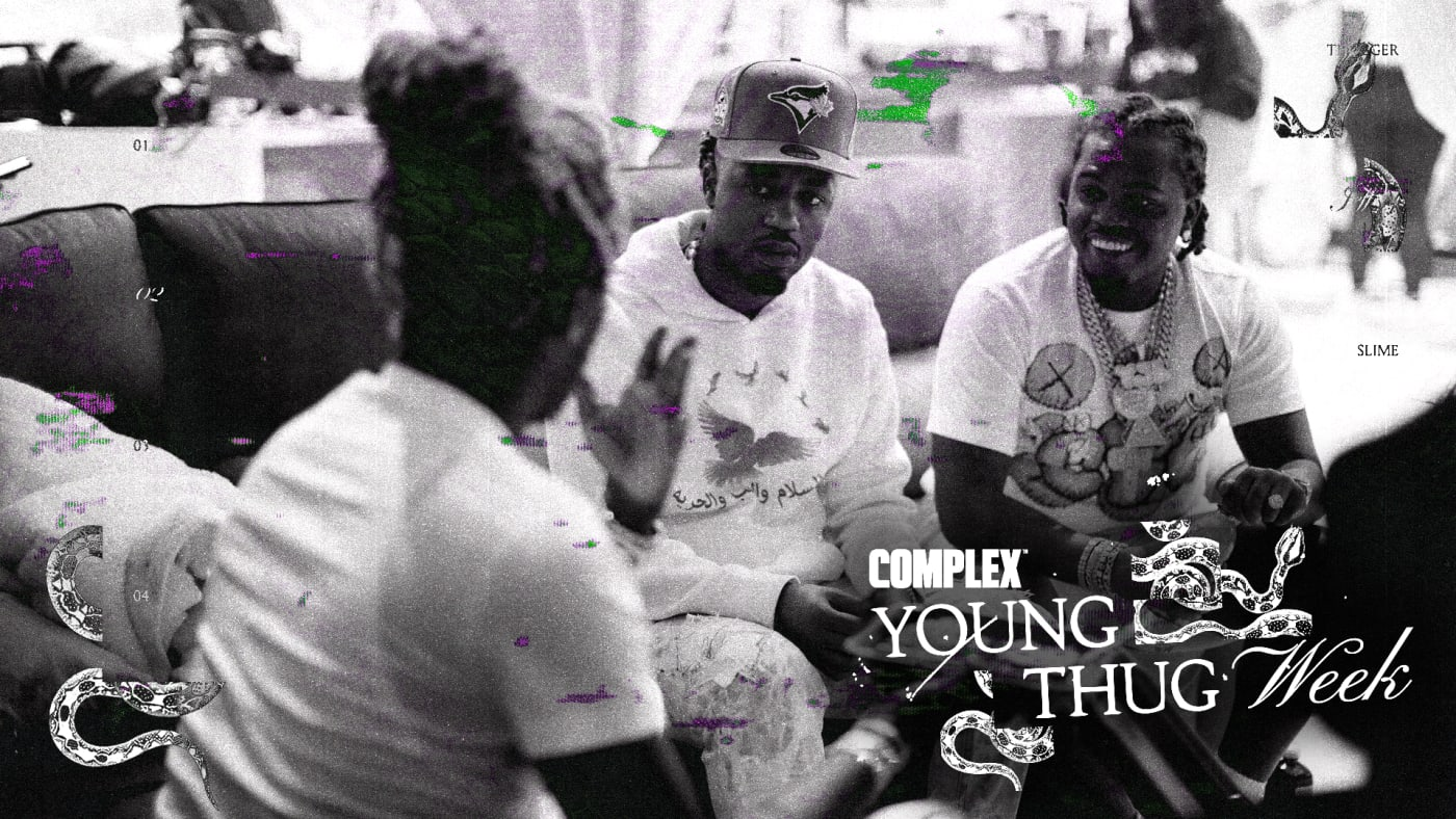 Inside Young Thug's Wild Studio Life: Young Thug Week at Complex