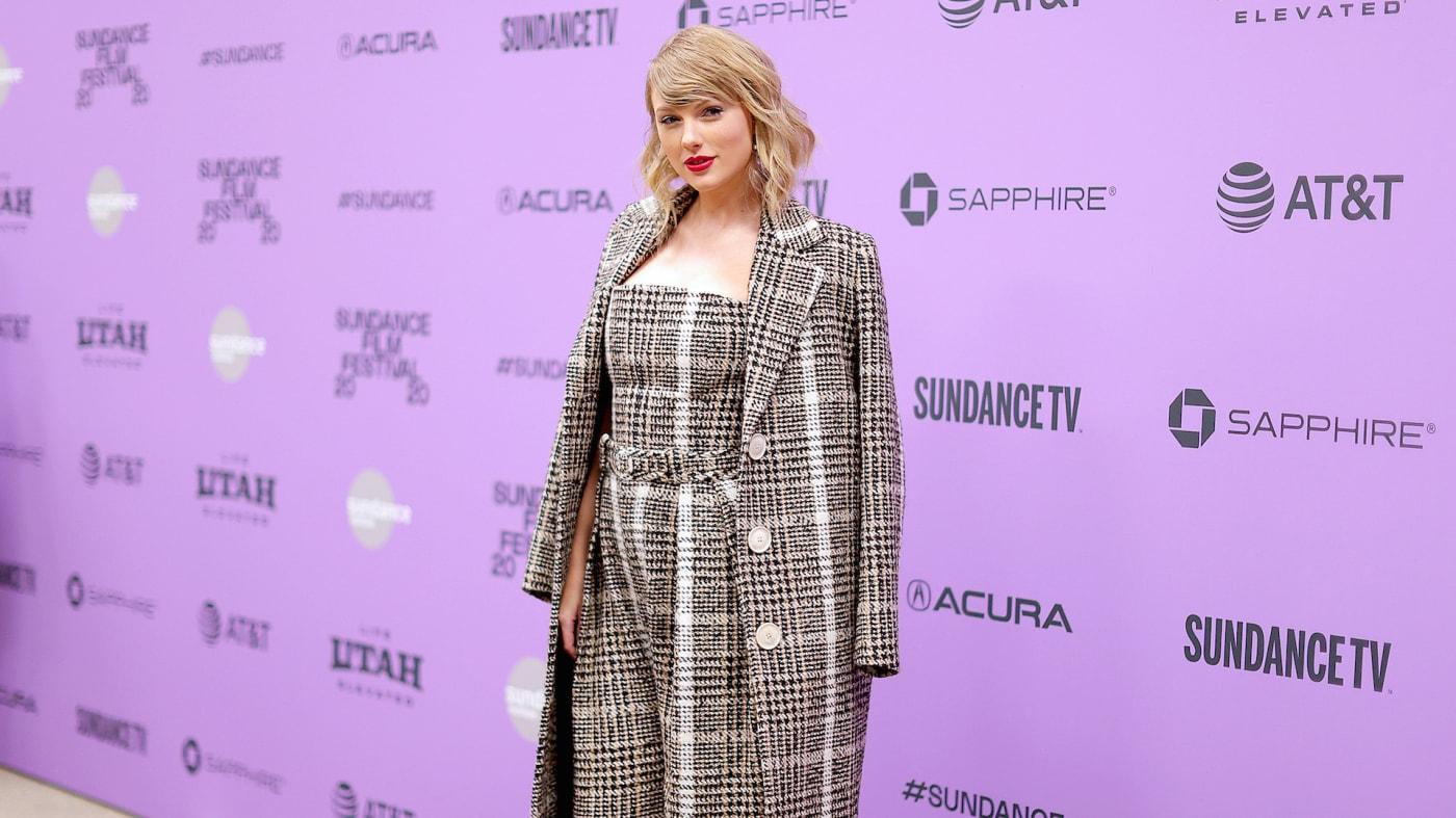 "Taylor Swift attends the 2020 Sundance Film Festival   ""Miss Americana"" Premiere"