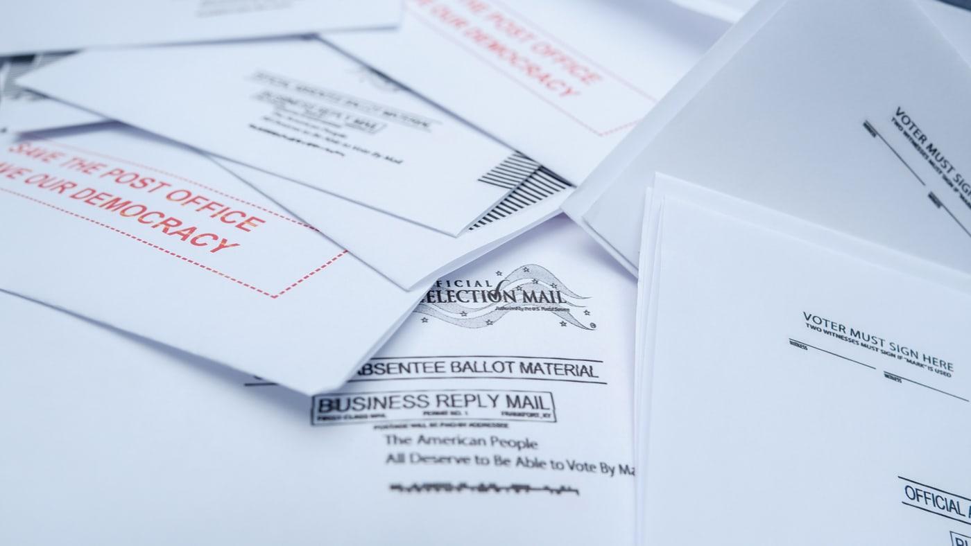 absentee ballot request