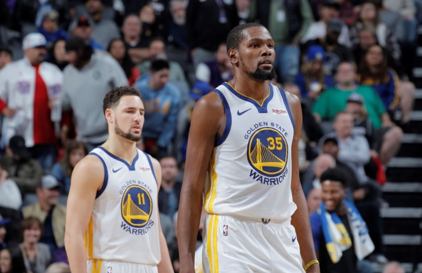kevin durant klay thompson warriors