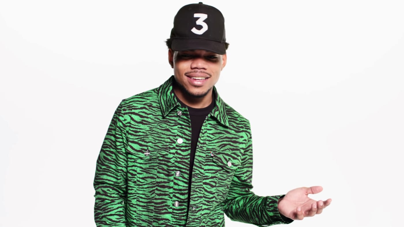 Chance the Rapper in H&M's new campaign